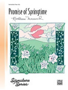 Alfred 00-5483 Promise Of Sprngtm-Pno Sol-4 & 5 Book
