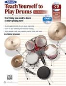 Alfred 00-40951 TEACH YRSLF DRUMS 2ND ED-BK & CD & DVD