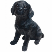 Michael Carr Designs MCD80098 Shadow Black Labrador Puppy Large