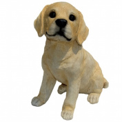 Michael Carr Designs MCD80102 Yellow Labrador Puppy Large