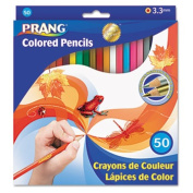 Dixon Ticonderoga Co. 22480 Coloured Woodcase Pencils 3.3 mm 50 Assorted Colours/Set