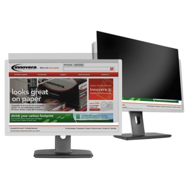 Innovera BLF215W Black-Out Privacy Filter for 21.5 Widescreen LCD Monitor