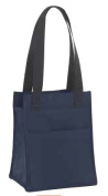 Joann Marrie Designs NLB2NA Large Lunch Bag - Navy Pack of 2