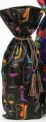 Joann Marie Designs IBT6X15BOT Printed Wine Bag - Bottles Pack of 12