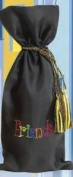 Joann Marie Designs IBTEMB1 Embroidered Wine Bag - Friends Pack of 12