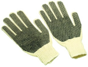 Seattle Glove S-0316DD-L Premium and Natural White Cotton & Polyester String Knit Glove Small & Large Pack of 12