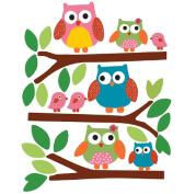 Wallies 12478 Owls Big Wall Sticker
