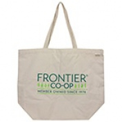 Frontier Natural Products 228570 Everyday Tote Bag 48cm x 39cm .