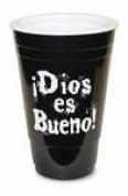 Divinity Boutique 92237 Span-Solo Cup-God Is Good Black