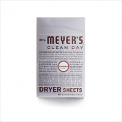 Mrs. MeyerS Dryer Sheets - Lavender - 80 Sheets