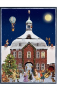 SELL ADV797 Sellmer Advent - Victorian style - Town Hall at Night