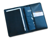 Dacasso a1042 Classic Black Leather Passport Holder - 0kg.