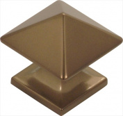 Hickory Hardware P3015-VBZ 3.2cm . Square Studio Collection Veneti Bronze Cabinet Knob