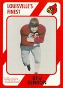 Autograph Warehouse 101642 Stu Gibson Football Card Louisville 1989 Collegiate Collection No. 164