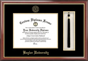 Campus Image TX955PMHGT Baylor University Tassel Box and Diploma Frame