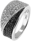 Doma Jewellery MAS02353-5 Sterling Silver Ring with Cubic Zirconia - Size 5