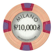 Bry Belly CPML-$10000 25 Roll of 25 - Milano 10 Gramme Clay - $10000