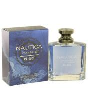 Nautica 502339 Nautica Voyage N-83 by Nautica Eau De Toilette Spray 100ml
