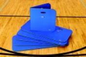 Sportime Folding Exercise Mats Blue Set - 6
