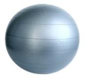 Aeromat Replacement Ball For Junior Ball Chair Grey