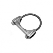 WALKER EXHST 35408 Exhaust Clamp - Silver - 5.1cm .