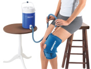 Fabrication Enterprises 11-1556 Aircast Cryocuff - Medium Knee With Gravity Feed Cooler