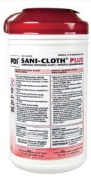 PDI Q85084 20cm x 36cm . Sani-Cloth Plus Germicidal Disposable Cloths 65 per Canister
