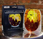 Modgy LUM3001x2 Lumizu Expandable Luminary Lantern Fall Upon Us