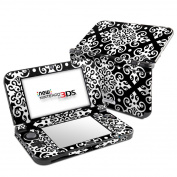 DecalGirl N3DSLL-NOIR Nintendo 3DS LL Skin - Noir