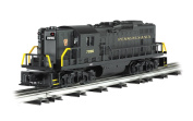 Williams by Bachmann GP9 Scale Diesel Locomotive Pennsylvania #7096 - Black - O Scale