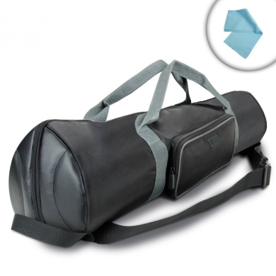 USA Gear 90cm Padded Tripod Carrying Case Bag with Strap , Top Expanding Extension & Accessory Storage - Works with Ravelli , Manfrotto , Benro & More 90cm Folded Tripods