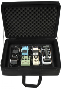 SKB 1SKB-PS-8PRO 9VDC Power 8-Port Powered Pedalboard with Soft Case