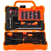 Anseahawk Professional Precision Screwdriver Set (45 in 1) Repair Tools Kit for Smartphone Tablet Laptop Computer Electronics fit iPhone, iPad, for for for for for for for for for Samsung Galaxy / Tab, HTC, LG, OnePlus and More