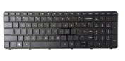 Genuine New US Laptop Keyboard with Frame for HP Pavilion 17E 17-E 17-E000 17-E100 17-Exxx 17Z-E 2B-07001Q110 725365-001 AER68U00310 720670-001 AER68U00110, V140546BS1
