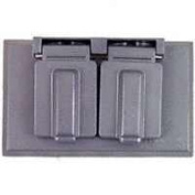 Cooper Wiring S989-SP 1-Gang Duplex Receptacle Cover