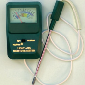 Lustre Leaf Products LUS1830 Rapitest Moisture Light Metre Combo Metre