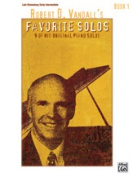 Alfred 00-40309 Vandall Favourite Solos 1 Book