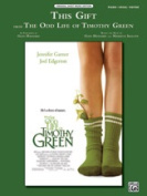 Alfred 00-40537 This Gift - Pvg Timothy Green Movie Book