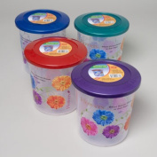 RGP 41837 Food Storage Container Decorated With 3 Designs Pack Of 36