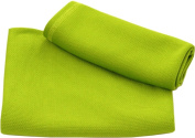 Discovery Trekking Outfitters 90cm x 150cm . Ultra Fast Dry Towel Lime
