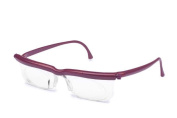 Adlens EM02-VLT Adjustables Plum Frame With Clear Lens