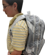 Bright Ideas RBP2S Reflective Backpack - 360 degree Silver