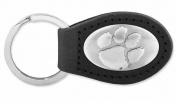 ZeppelinProducts CLE-KL6-BLK Clemson Leather Key Fob Black