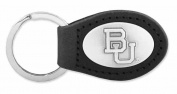 ZeppelinProducts BAY-KL6-BLK Baylor Leather Key Fob Black