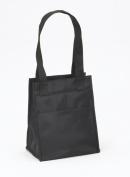 Joann Marrie Designs NLB2BL Large Lunch Bag - Black Pack of 2