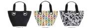 Joann Marie Designs MBDMK Mini Bag - Damask Pack of 2