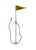 KUFA Sports Flag pole for Traps with 2 Sections, 120cm