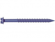 MKT Steel Conset Masonry Screw Anchor, Hex Washer Head Faced, 0.6cm Diameter x 2.5cm - 0.6cm Length