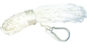 Invincible Marine 15m Nylon Anchor Line with Snap Hook, 1cm by 15m