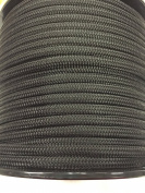 1cm Black Double Braided Nylon Anchor/Dock Line Rope, Available in 15m, 30m, 46m and 90m